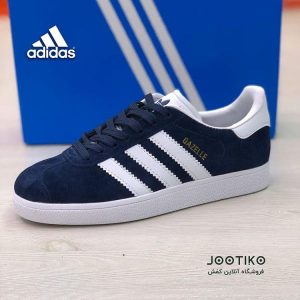 کفش آدیداس گزل adidas Gazelle Shoes سرمه ای
