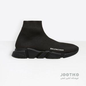کفش بالنسیاگا Balenciaga جورابی تمام مشکی