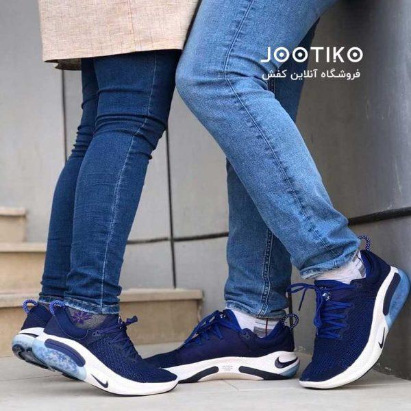 کفش نایک جوی راید آبی Nike Joyride Run Flyknit