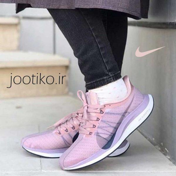 کفش دویدن زنانه نایک زوم Nike Zoom Pegasus Turbo صورتی