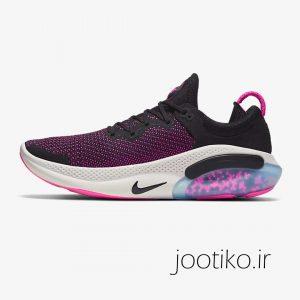 کفش نایک جوی راید مشکی بنفش Nike Joyride Run Flyknit