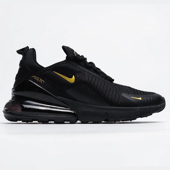 کفش نایک ایرمکس 270 Nike Air Max مشکی طلایی