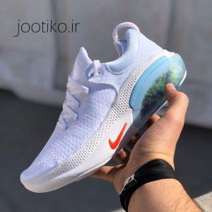 کفش نایک جوی راید Nike Joyride Run Flyknit تمام سفید