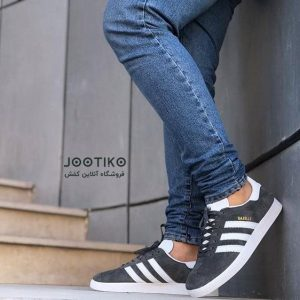 کفش آدیداس گزل adidas Gazelle Shoes خاکستری