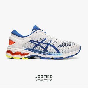 کفش مردانه اسیکس ژل کایانو Asics Gel Kayano 26 سفید