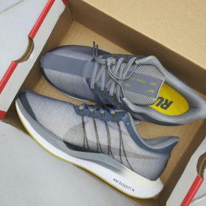 کتانی نایک دویدن مردانه Nike Zoom Pegasus 35 Turbo طوسی