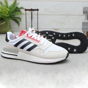 کفش آدیداس زد ایکس Adidas ZX 500 سفید کرم