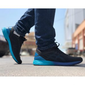 کفش اسیکس داینافلایت DYNAFLYTE 2 مشکی آبی مردانه