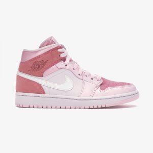 نایک ایر جردن وان Jordan 1 Mid Digital Pink