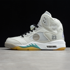 نایک ایر جردن 5 رترو آف وایت Air-Jordan-5-Retro-Off-White
