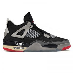 نایک ایر جردن 4 رترو آف وایت Air Jordan 4 Retro SP Off-WHITE