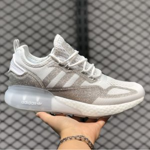 آدیداس زد ایکس 2k بوست Adidas zx 2k Boost سفید نقره ای