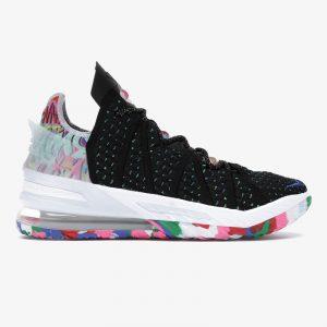 کفش بسکتبال مردانه نایک لبرون Nike LeBron 18 Multicolor