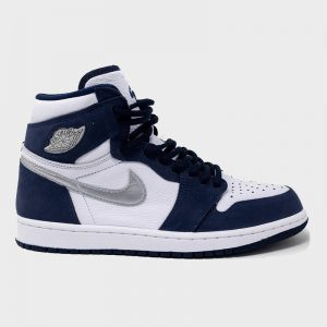 نایک ایر جردن وان AIR Jordan 1 Retro High COJP Midnight Navy