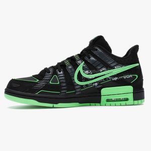 نایک ایر رابر دانک آف وایت Nike Air Rubber Dunk Off-White Green Strike