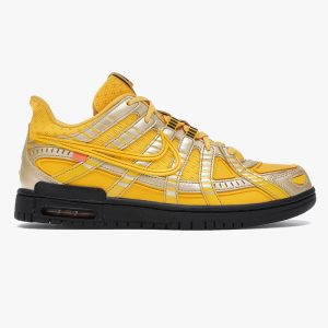 نایک ایر رابر دانک آف وایت Nike Air Rubber Dunk Off-White University Gold