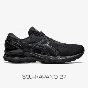 کفش مردانه اسیکس ژل کایانو Asics Gel Kayano 27 مشکی