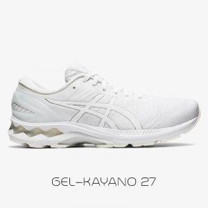 کفش مردانه اسیکس ژل کایانو Asics Gel Kayano 27 سفید